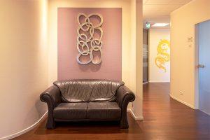 Akupunktur, Osteopathie, Chirotherapie – Wartebereich