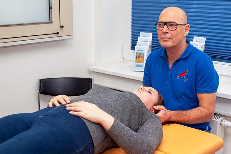 Behandlung mit Chirotherapie und Osteopathie