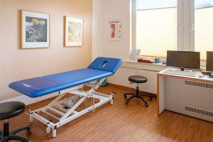 Untersuchung bei orthopädischen Erkrankungen